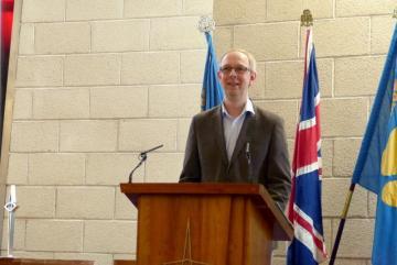 Revd David Salsbury – Stepwise Programme Manager