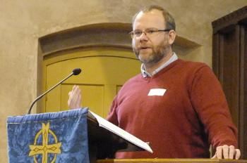 Revd David Downing, Convenor of Ministries Group