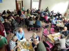 Lunch in the Main Hall
