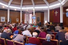 The Synod begins - view from the back