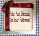 Peter & Deborah's cake