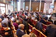 The Synod begins - view from the side